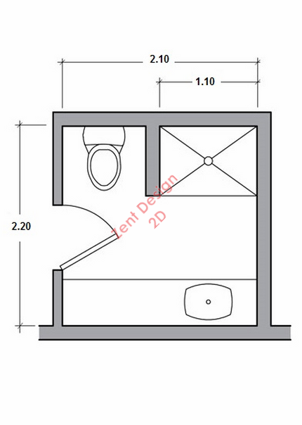 Bathroom 44 plans pdf zent design 2d for Bathroom design pdf