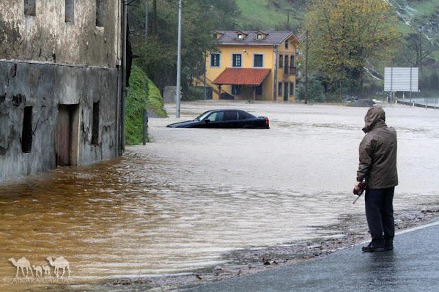 Inundaciones en Azpeitia