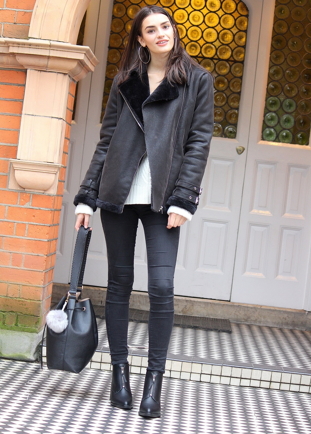peexo fashion blogger styling monochrome