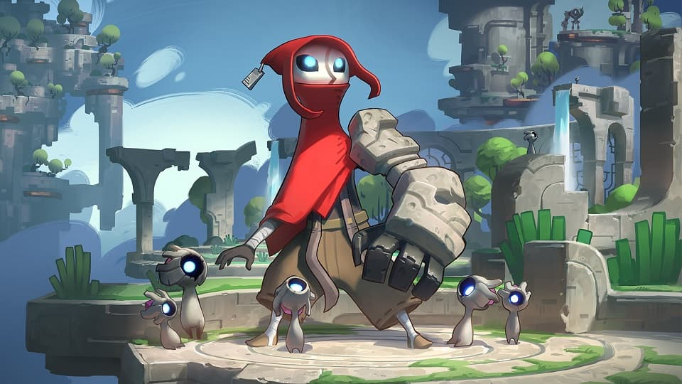 Hob, SciFi, Fantasy, OpenWorld, Adventure, Metroidvania, IndieGame, Review, обзор, рецензия