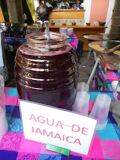 receta de agua de jamaica