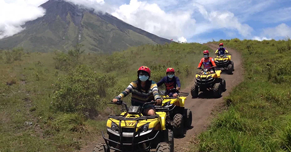 ATV Trail in Bicol, Philippines