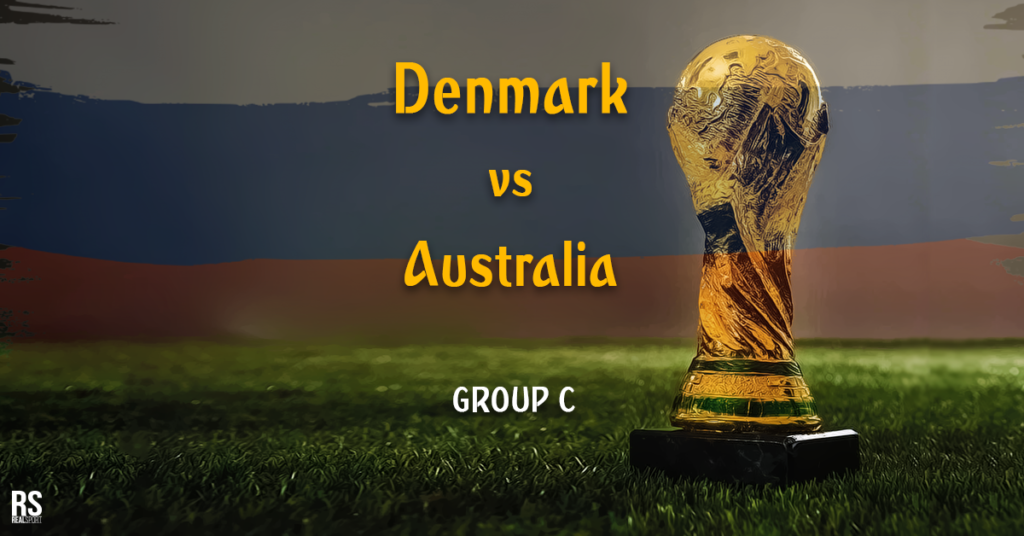 Fifa World Cup 2018: Australia Draws Denmark