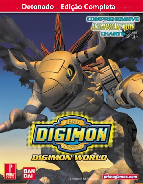 Detonado - Digimon World