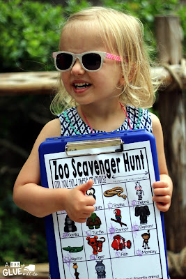Zoo Scavenger Hunt FREEBIE is the perfect addition to your class' field trip or a trip to the zoo with your kids. This is a perfect way to add some sort of structure to the field trip and encourage some great discussions about the animals that they are seeing.