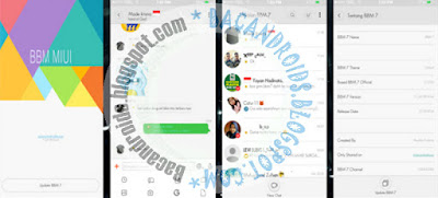 Download BBM MIUI Style Apk Terbaru