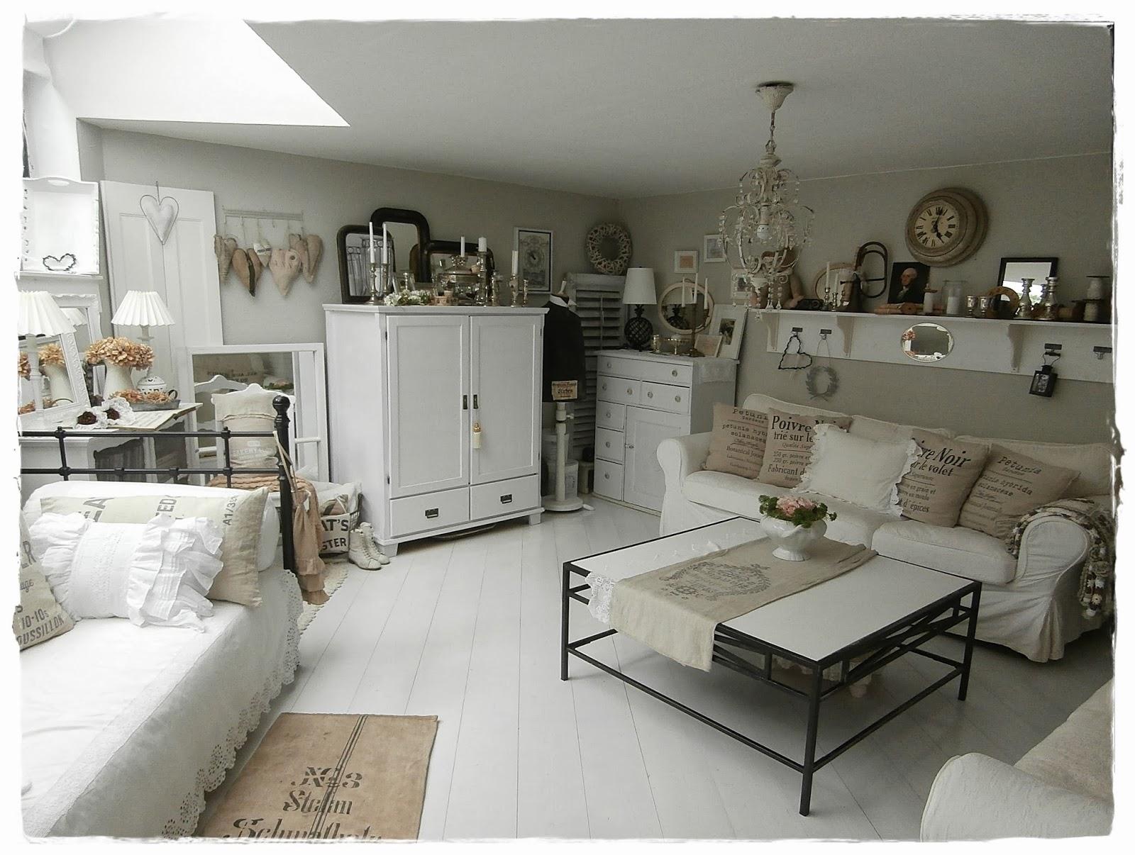 shabby landhaus vorhernachherwohnzimmer