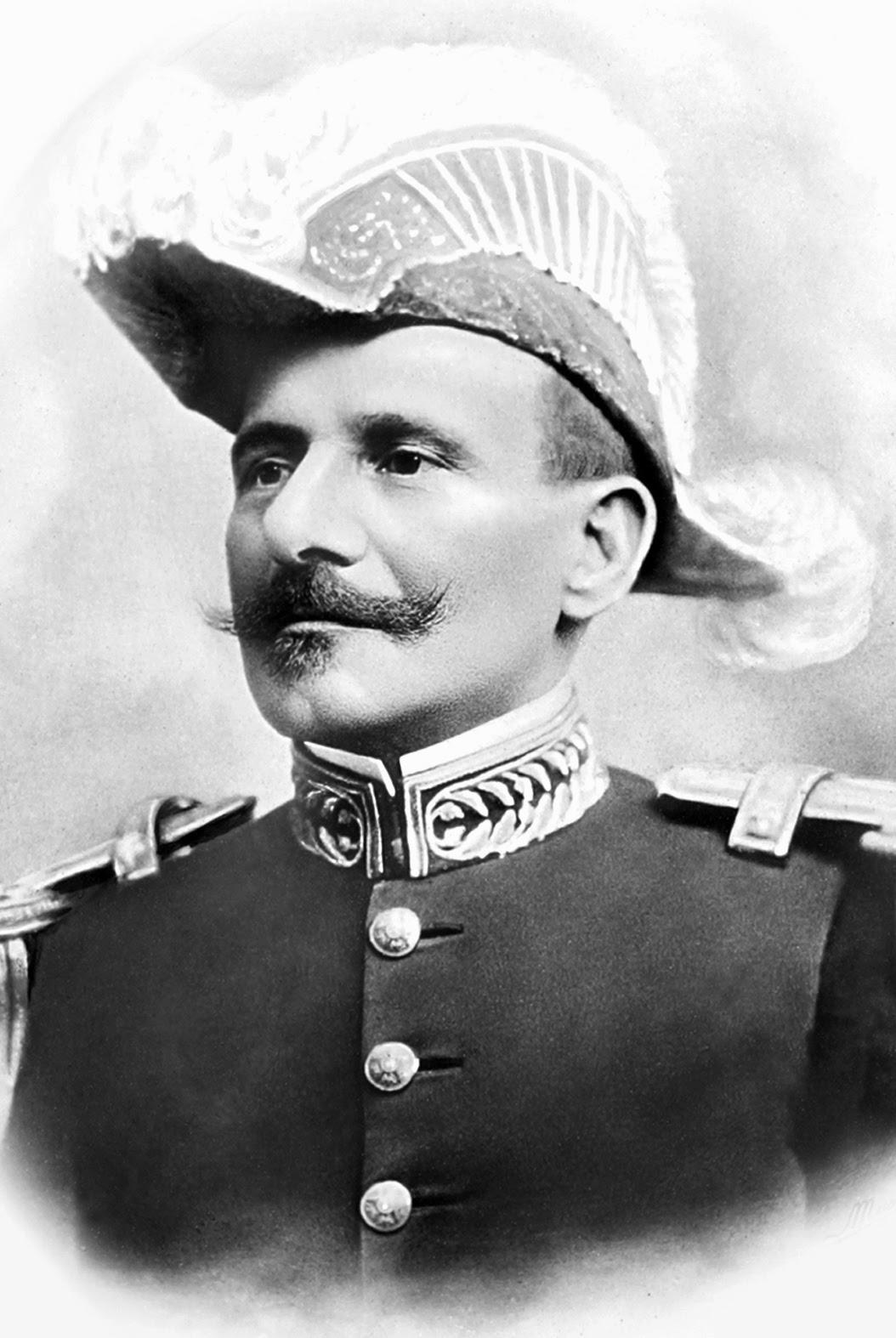 Hermes da Fonseca nasceu em São Gabriel, no RS.