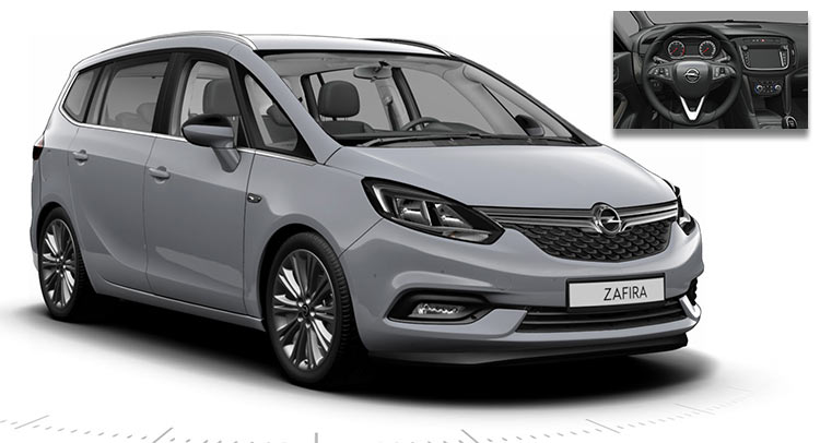 this is likely the facelifted 2017 opel vauxhall zafira tourer. Black Bedroom Furniture Sets. Home Design Ideas