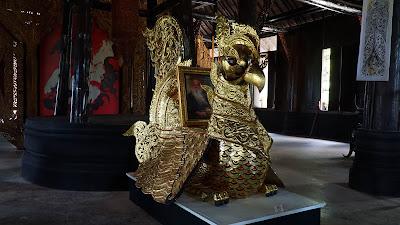 Quaint works of art by Thailand's national artist, Thawan Duchanee