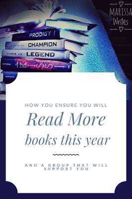 Read more books this year with a Goodreads group