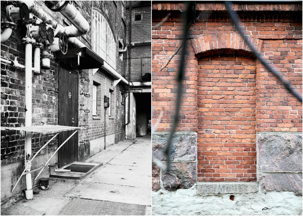 Visualaddict, valokuvaus, valokuvaaminen, valokuvaaja, Frida Steiner, Telakkaranta, Helsinki, vanha rakennus, punatiili, tiilirakennus, Konepaja