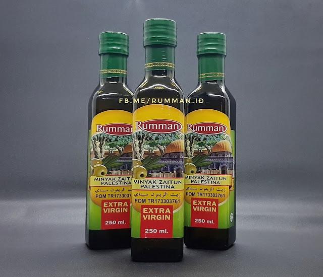 Rumman Minyak Zaitun Palestina Extra Virgin