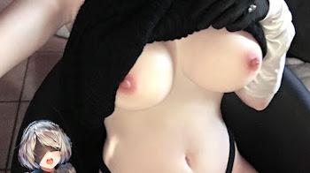 Cosplay Nier Automata Hot +18 Sin Censura | Set Fotográfico + Video | MEGA