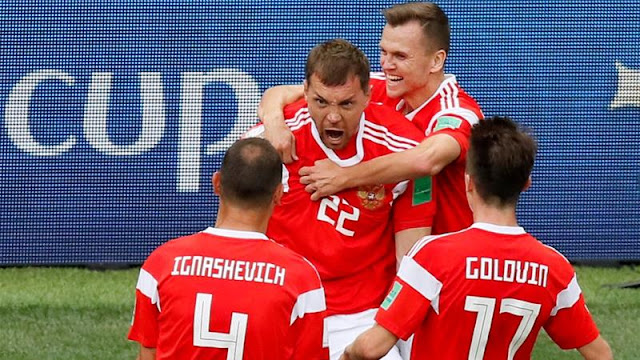 FIFA Russia wins Worlcup Opening Match against Soudi Arabia