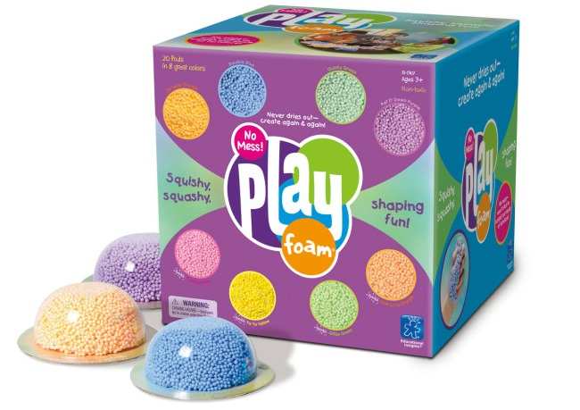 Play Foam - unique and fun gift ideas for kids