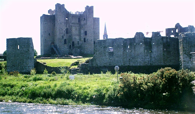 Trim Castle, photo from across the river