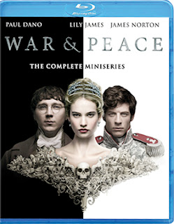 DVD & Blu-ray Release Report, War & Peace, Ralph Tribbey