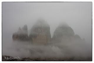 Felhős Dolomitok