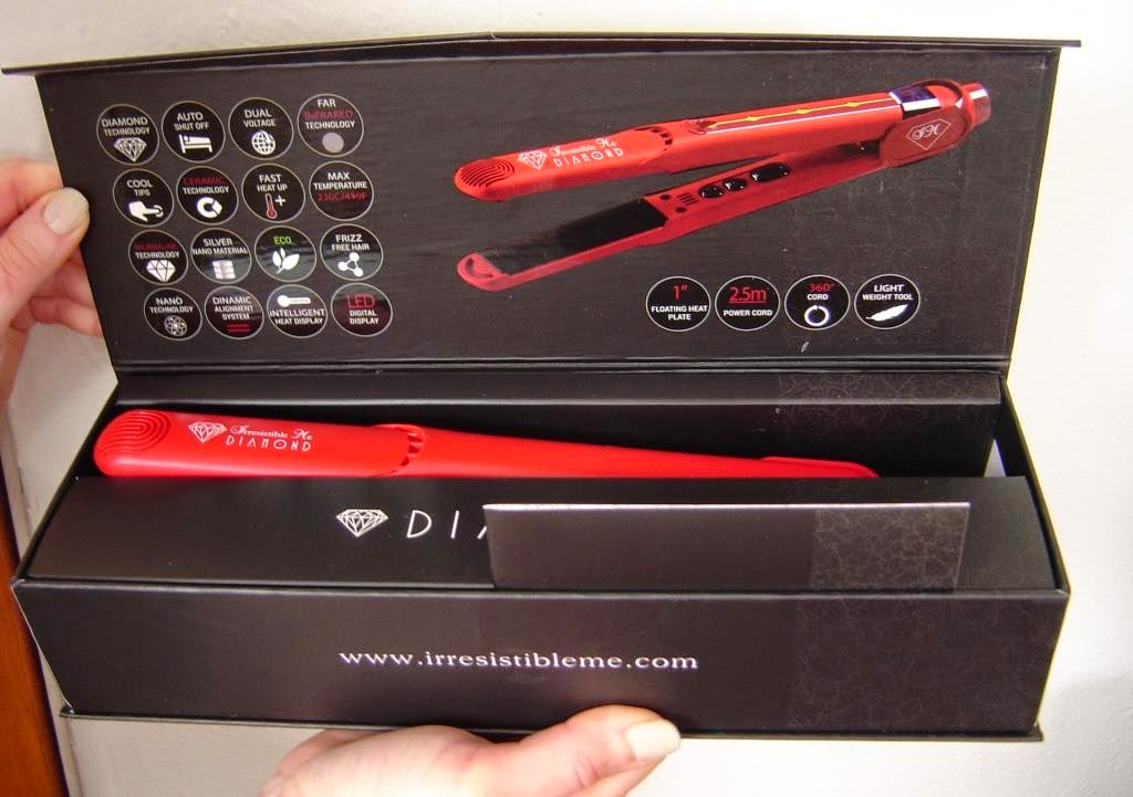 Irresistible Me's Diamond Professional Hair Styler in Box