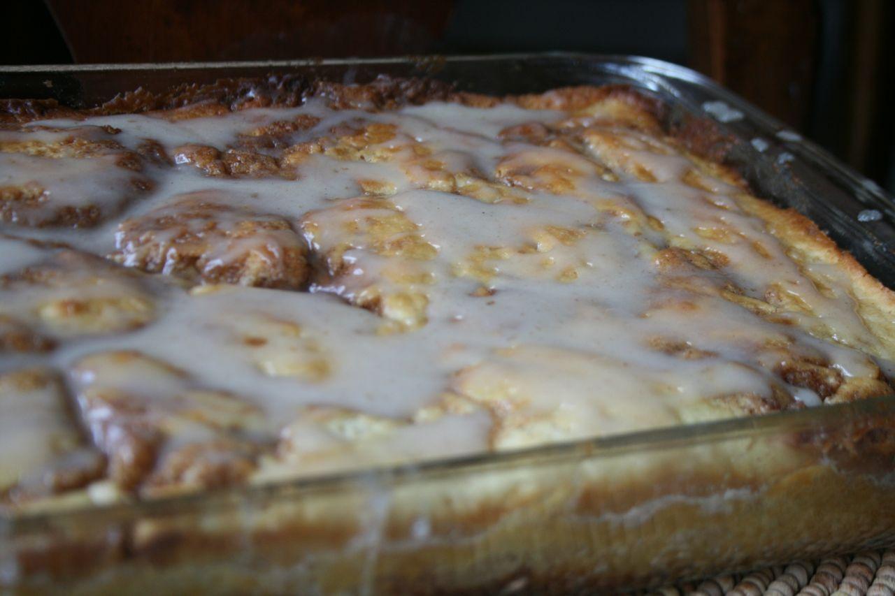 Recipe Shoebox Cinnamon Roll Cake