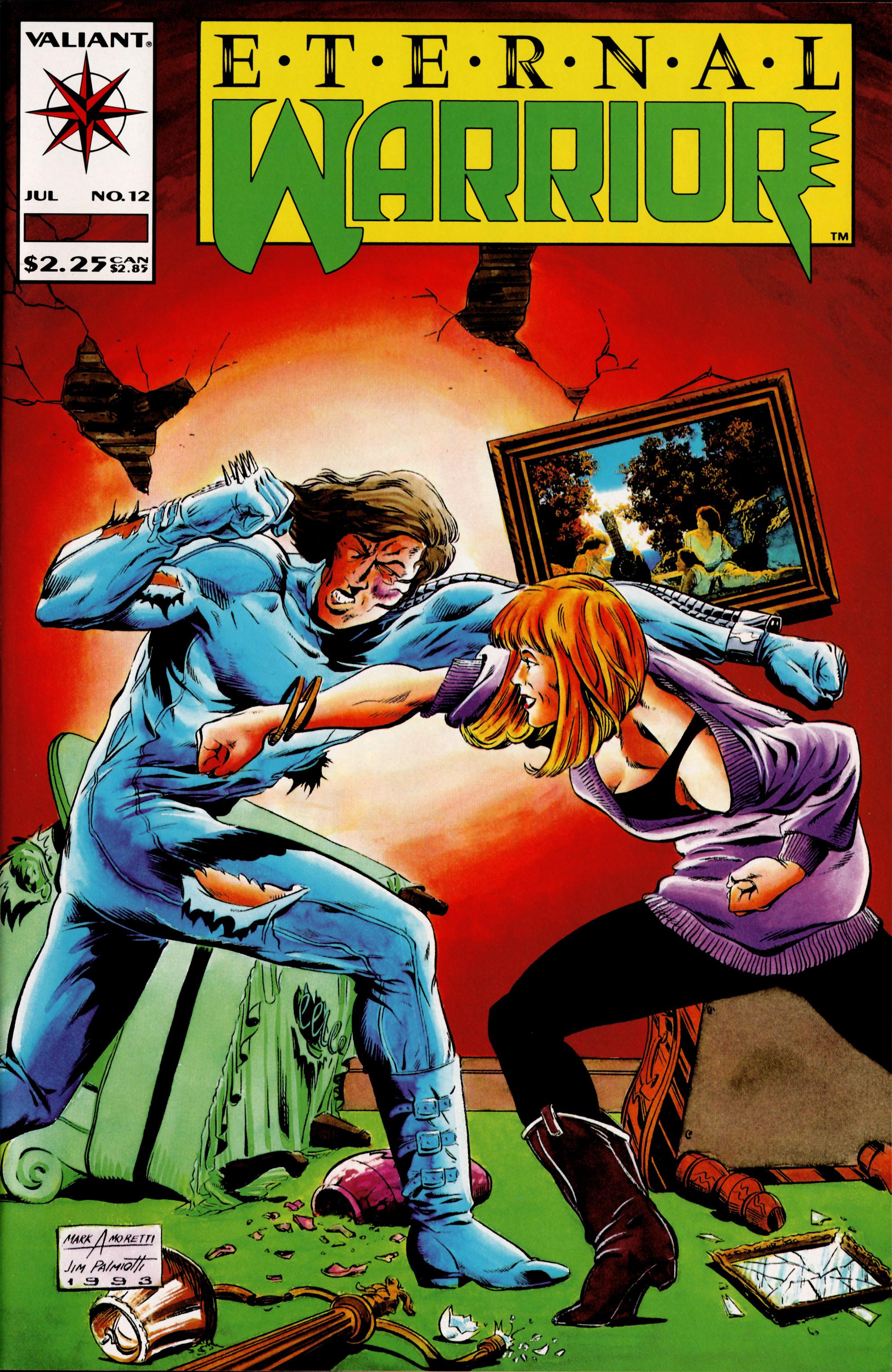 Read online Eternal Warrior (1992) comic -  Issue #12 - 1