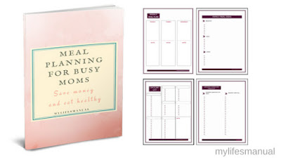 Meal planning for busy moms ebook and printables