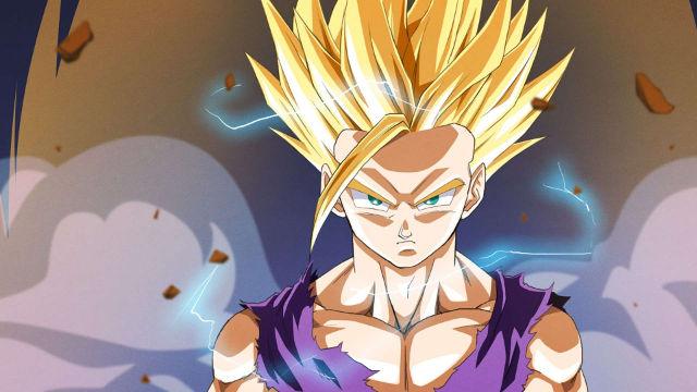 Dragon Ball Z - Gohan est Fou - Fond d'écran en Full HD