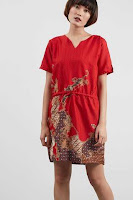 Dusdusan V-Neck Batik Dress ANDHIMIND