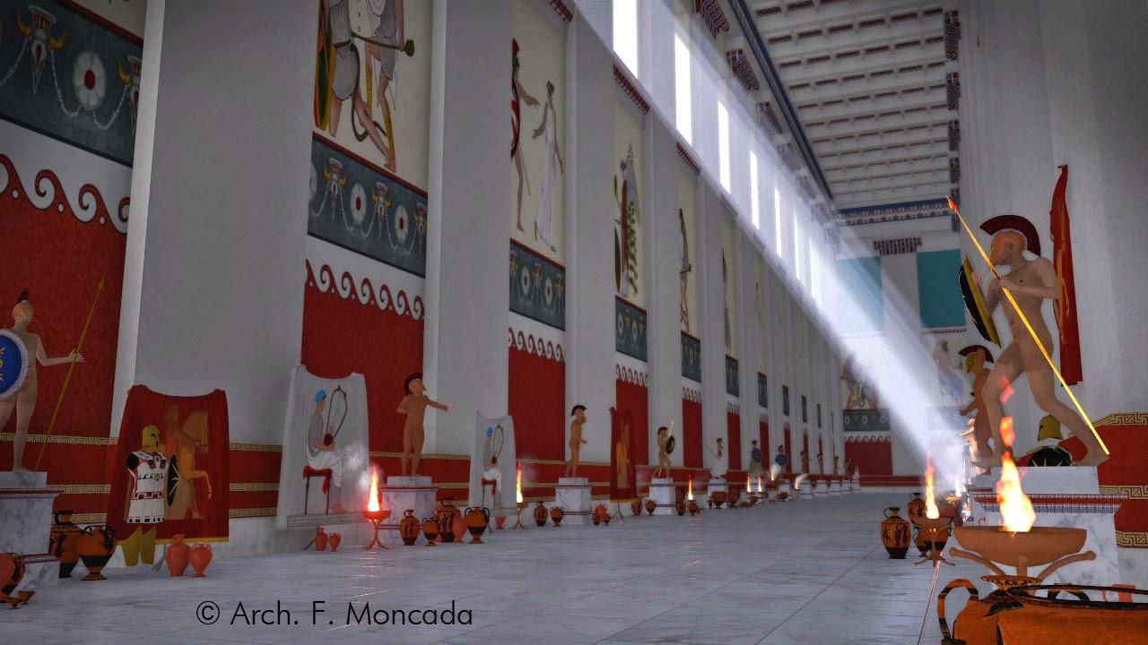 3Δ αναπαράσταση με Ελληνικά κτήρια στον Ακράγαντα στην Μ.Ελλάδα ~ ΒΙΝΤΕΟ -ΦΩΤΟ.