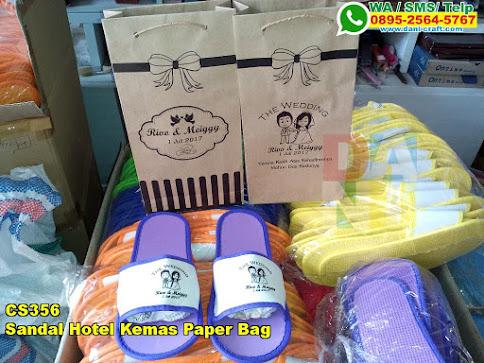 Toko Sandal Hotel Kemas Paper Bag