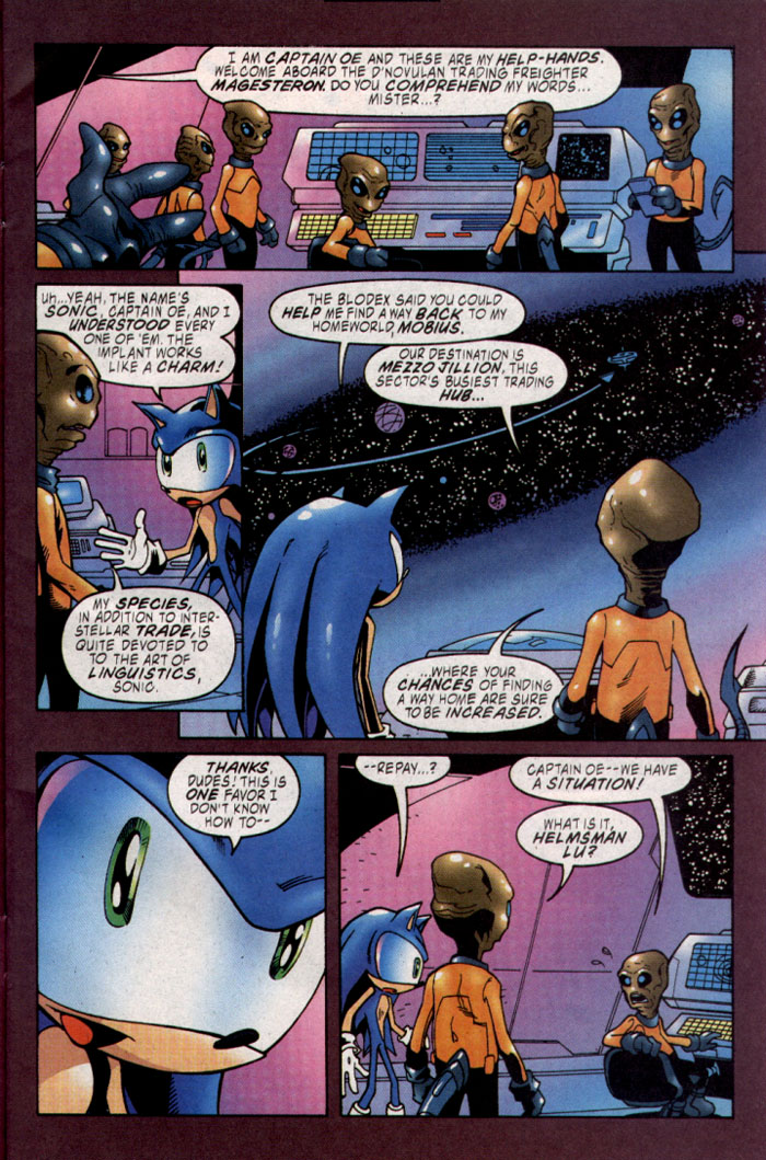 Read online Sonic The Hedgehog comic -  Issue #127 - 4