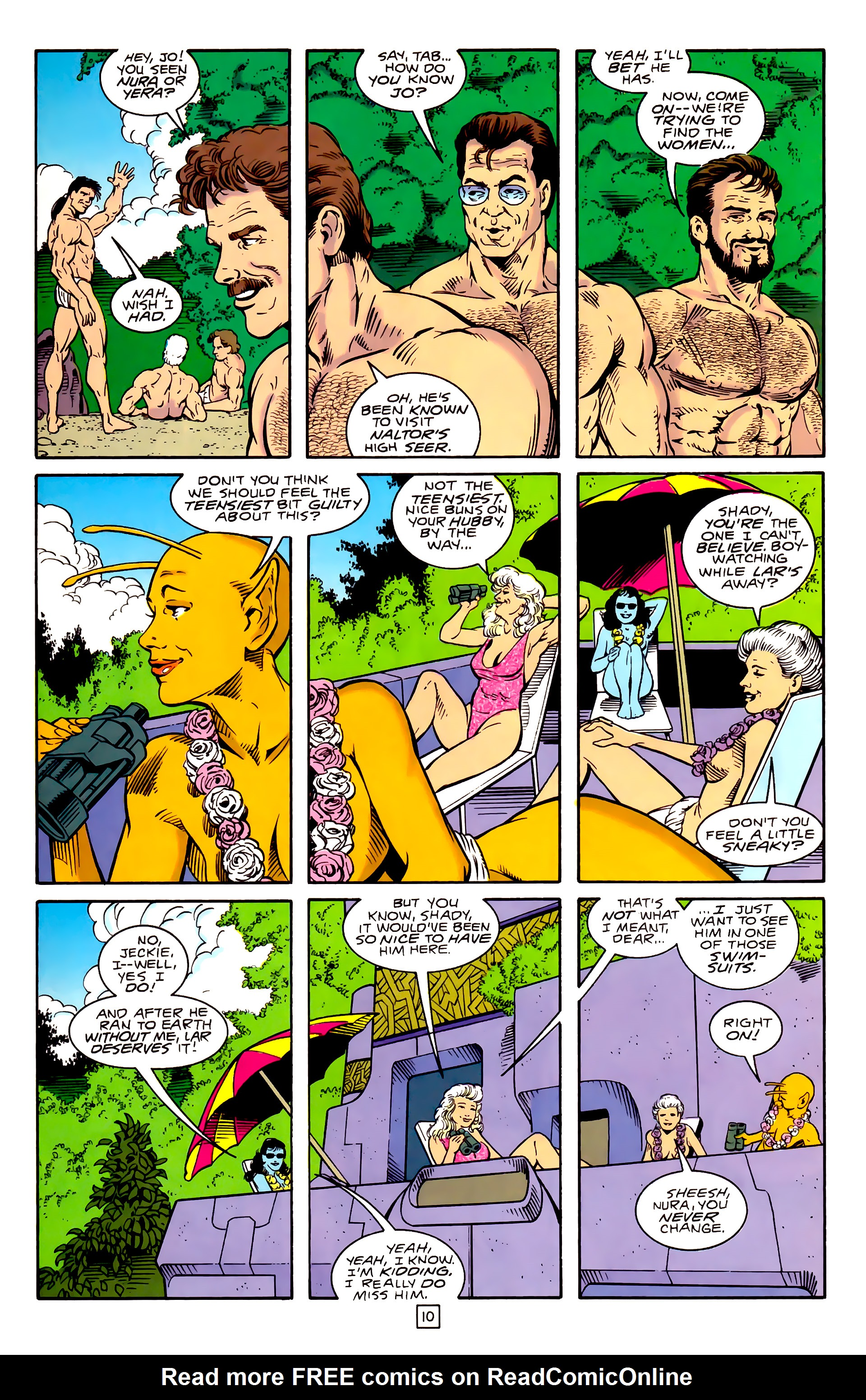 Legion of Super-Heroes (1989) _Annual_3 Page 37
