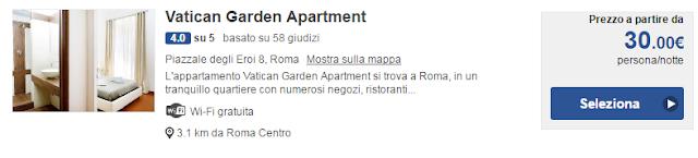 Vatican Garden Apartment