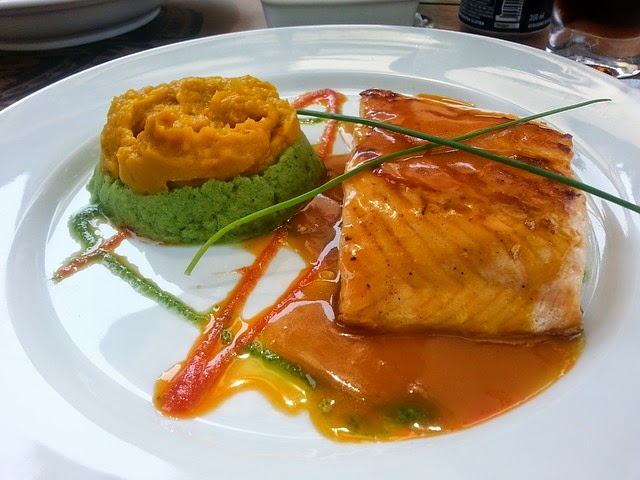 Street food cuisine du monde recette de saumon en papillote au miel l 39 ail au vinaigre et - Papillote saumon four ...