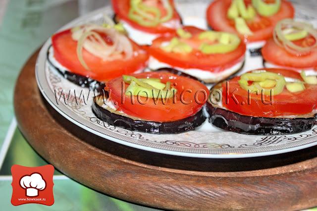 рецепт приготовления закуски с баклажанами