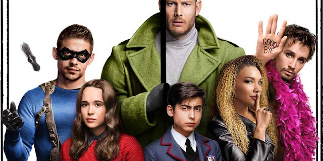 The Umbrella Academy, Tráiler, Netflix