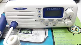 Radio Kapal Uniden Oceanus DSC Radio VHF Marine Radio