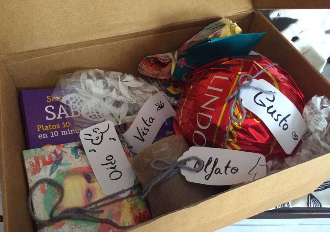 Blog de miriam caja de los cinco sentidos regalo - Regalos para la vista ...