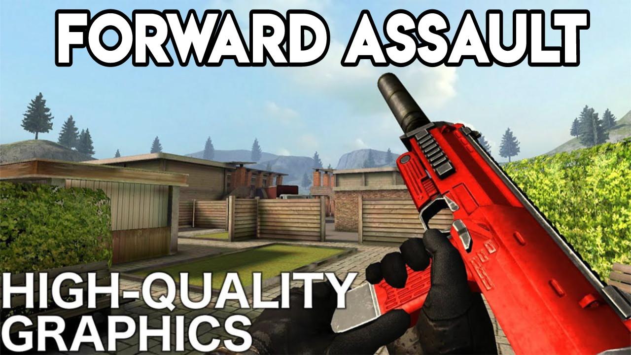 Forward Assault v1.1017 Apk – OBB