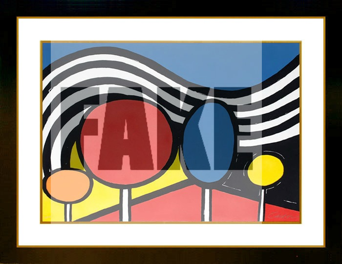 Masterworks Fine Art states Misattributed Calder titled Trees and Mountains is sold