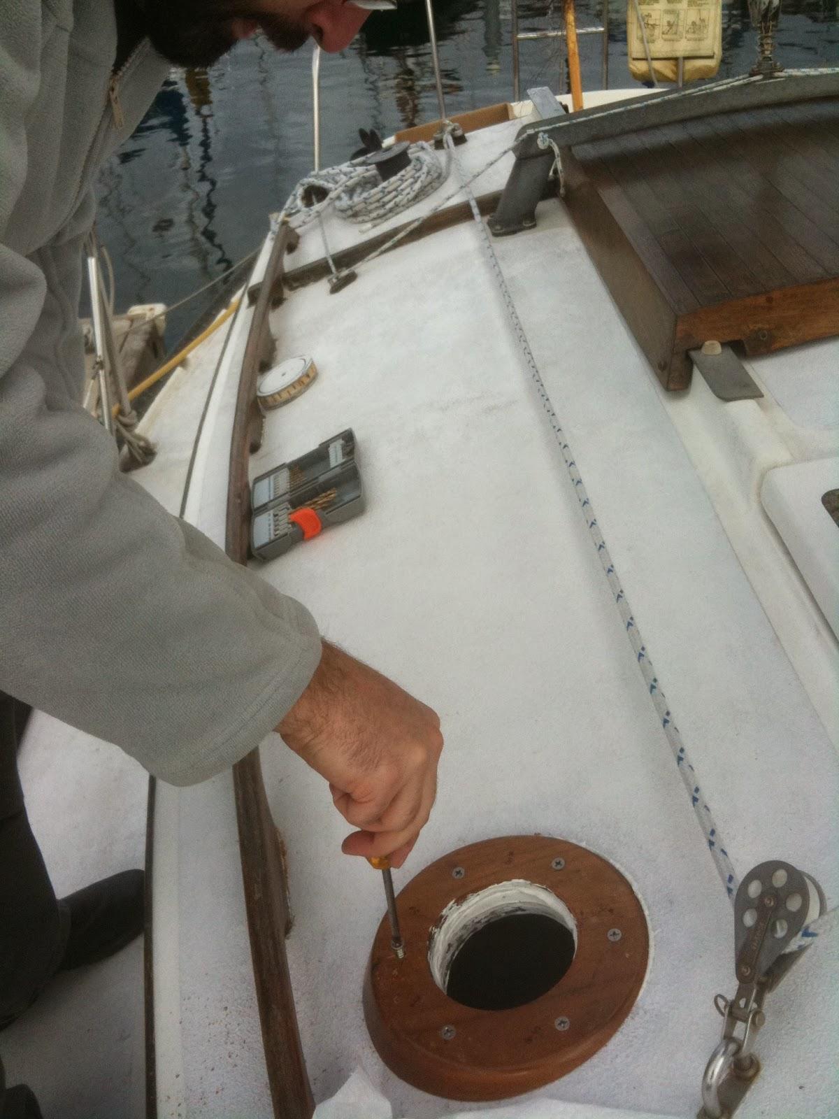 install dickinson marine heater