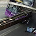 Bus Runs Over Man And He Just Walks Into The Bar!! - Video