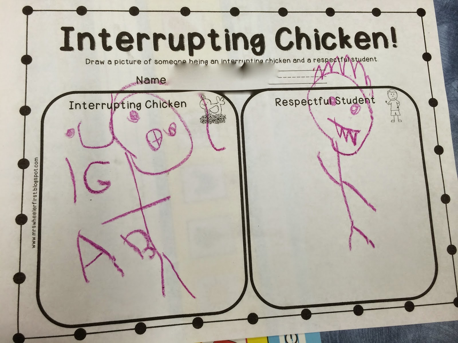 Ms Sepp S Counselor Corner Interrupting Chickens In