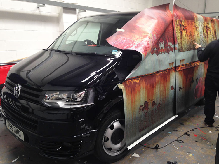 Scg Virals Disguise Your Vehicle With This Rust Wrap To