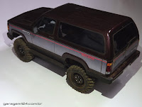 Bolha Chevrolet Bonanza/Veraneio R/c 1/10 - Tamiya TL01