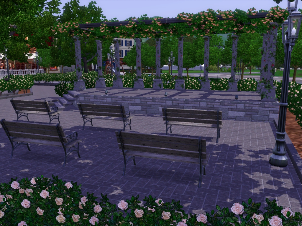 Hidden Springs Town Square And Two Starters By Cera13