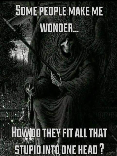 Some people make me wonder...