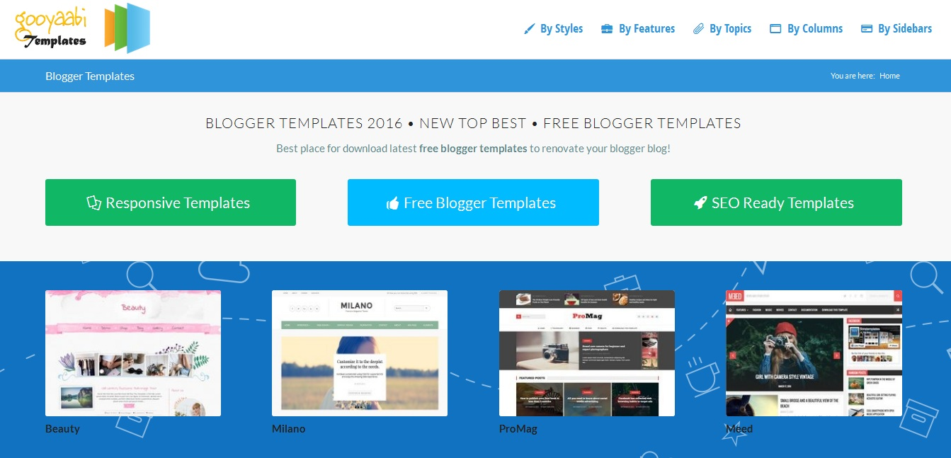 FREE BEST BLOGGER TEMPLATES YOU CAN FIND ~ TIPS FROM BRO