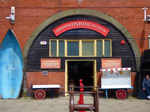 Brighton Fishing Museum on Brighton Beach